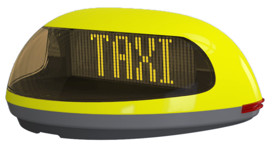 Pointguard iToplight D-500 Smart Taxi Roof Sign